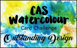 CAS Watercolour Card
