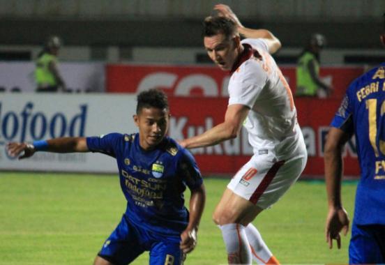 Borneo FC Sukses Tahan Imbang Persib Bandung di GBLA