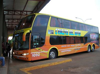 Autobús Crucero del Norte,Argentina, vuelta al mundo, round the world, La vuelta al mundo de Asun y Ricardo