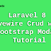 Laravel 8 Livewire Crud with Bootstrap Modal Tutorial