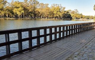 Lago Regatas Buenos Aires.