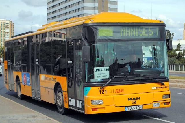 Aeropuerto de Valencia - Metrobus 150