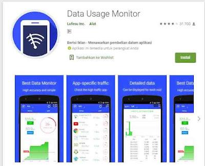aplikasi mengontrol kuota internet