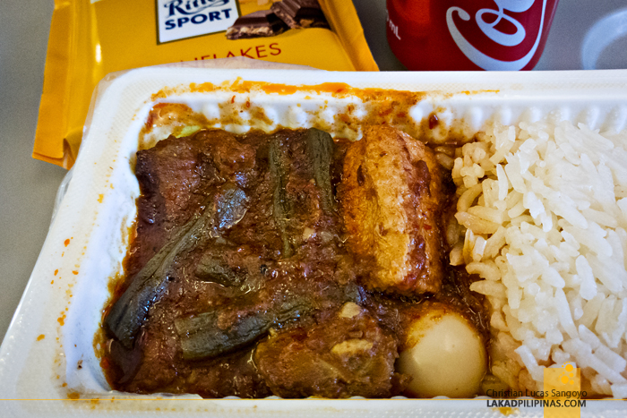 Scoot Review Manila to Singapore to Australia Inflight Meals
