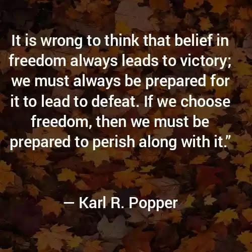 Karl R. Popper Best Quotes