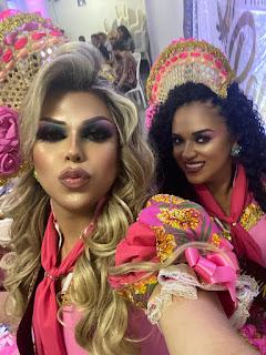 Em Sousa no Encontro das Rainhas Juninas da Paraíba meninas de Guarabira dão show de a parte e com simpatia