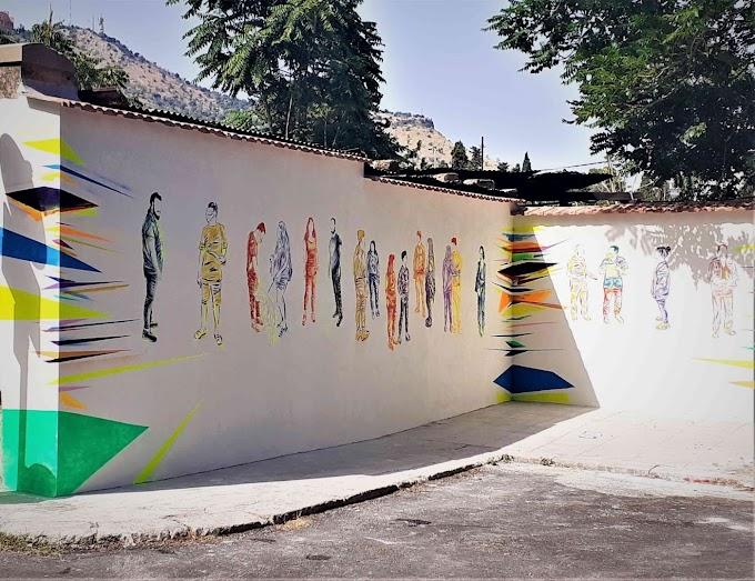 Palermo: Green House, l'artista Tommaso Chiappa e il Presidio di Cittadinanza riqualificano un tratto della via Sampolo