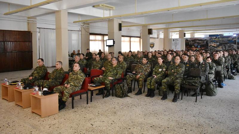 Διημερίδα με θέμα τη Δημιουργικότητα και Καινοτομία στο Στρατιωτικό Περιβάλλον πραγματοποιήθηκε στην Αλεξανδρούπολη