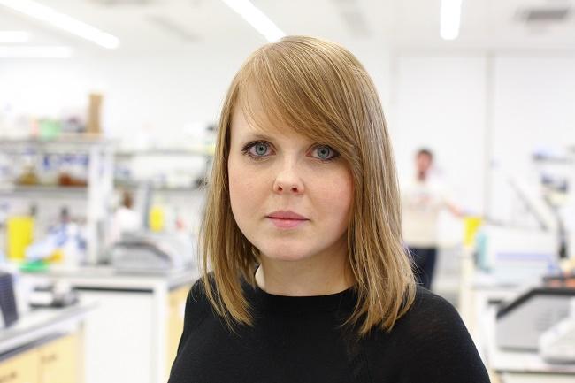 2. Dr Agata Starosta z Wydziału Biologii i Biotechnologii UMCS w Lublinie, laureatka trzeciego konkursu w programie FIRST TEAM (archiwum prywatne, fot. Kaveh Emami).