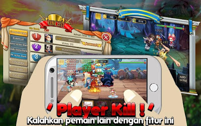 apk cheat game manga clash warrior arena