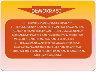 Tujuan Demokrasi Pancasila Pada Masa Orde Baru