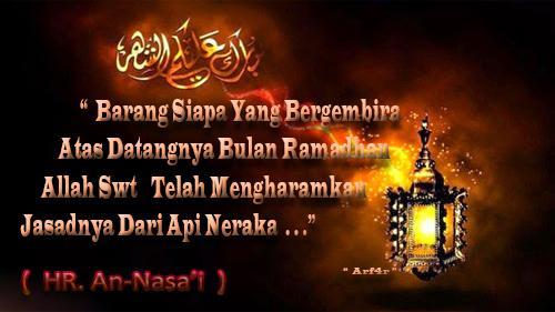 Gambar Kata Ucapan Menyambut Puasa Ramadhan  H