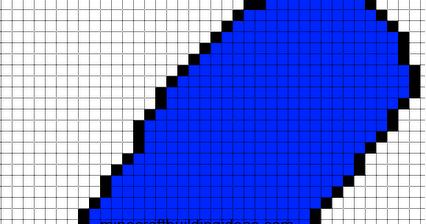Marge Simpson Pixel Art Minecraft