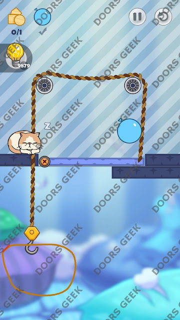 Hello Cats Level 40 Solution, Cheats, Walkthrough 3 Stars for Android and iOS