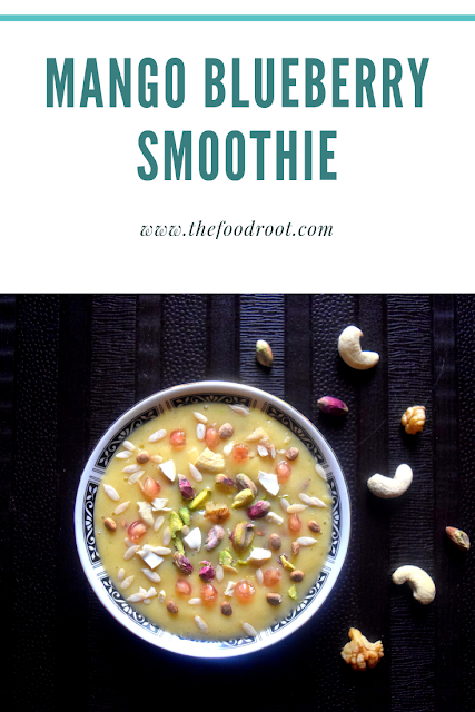 This is a perfect breakfast smoothie for busy mornings and helps in maintaining good health.