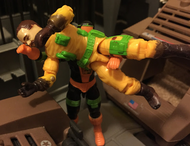 1991 Eco Warriors Clean Sweep, BAT, Battle Android Trooper