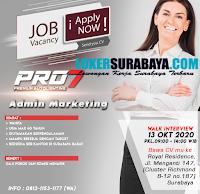Walk In Interview at Pro7 Premium Autolighting Surabaya Oktober 2020