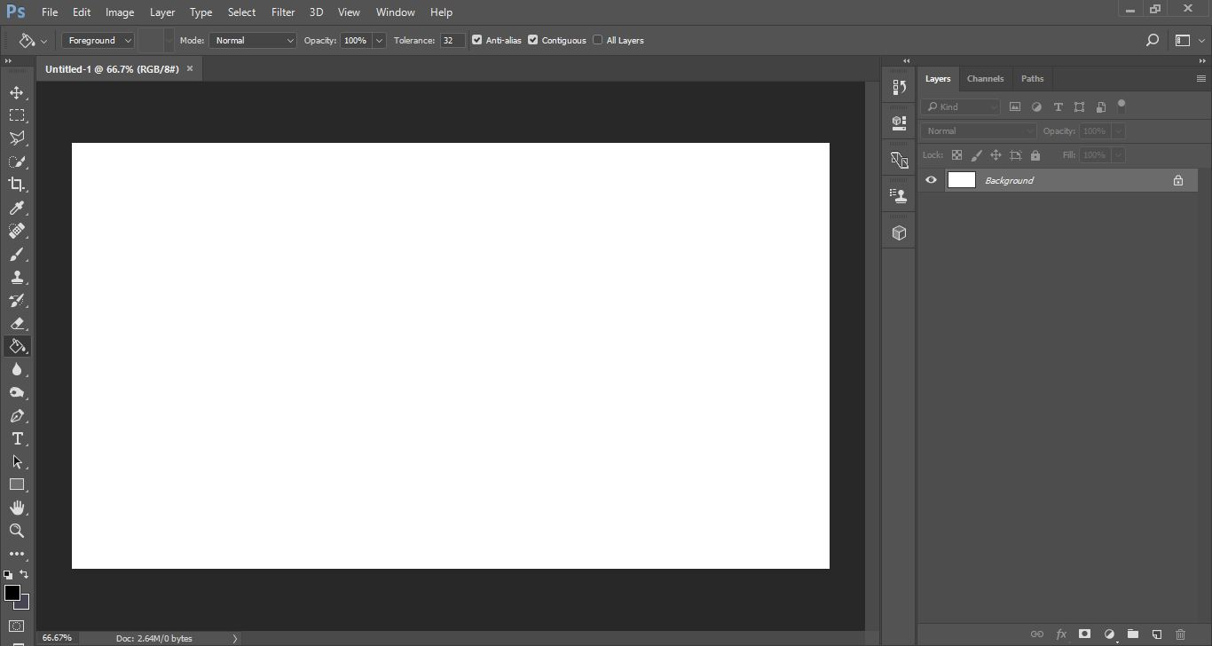 Add image into text in photoshop design bundles 1 open photoshop and create a new file ccuart Image collections