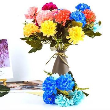 Bunga Plastik / Bunga Artificial Hydrangea (Seri A61)
