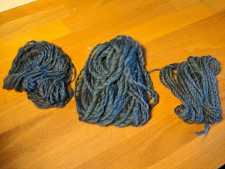 Yarns #1, 2, and 4