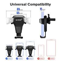 Gravity type mobile holder