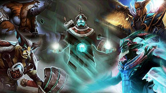 Heroes mas usados, jugados en DOTA 2