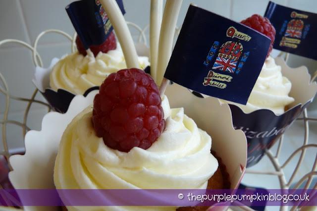 Lemon & Raspberry Cupcakes