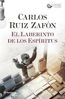 Ruiz Zafón. Gabriel Casas, La sombra del viento