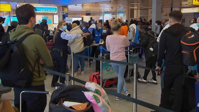 إلغاء جميع رحلات الطيران غير الضرورية في هولندا