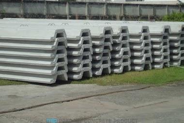 Jual Sheet Pile Beton #1 di Yogyakarta • 0819 3299 8507 • MegaconBeton.com