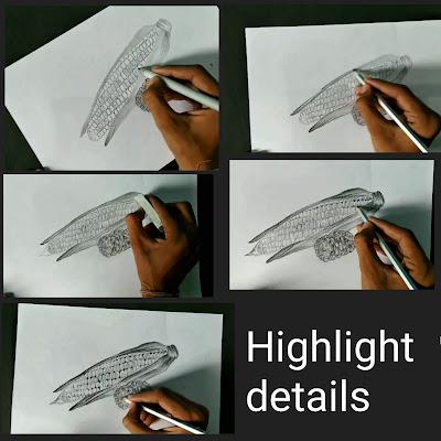 How to draw corn cob, corn cob drawing, corn drawing , easy Drawing tutorial for kids, corn drawing for kids, drawing lessons, realistic drawing