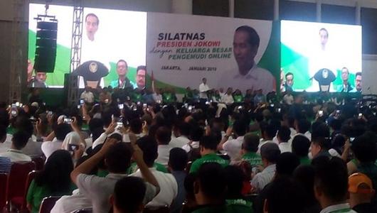 Jokowi: Saya Jengkel kalau Ada yang Remehkan Pengemudi Transportasi Online...