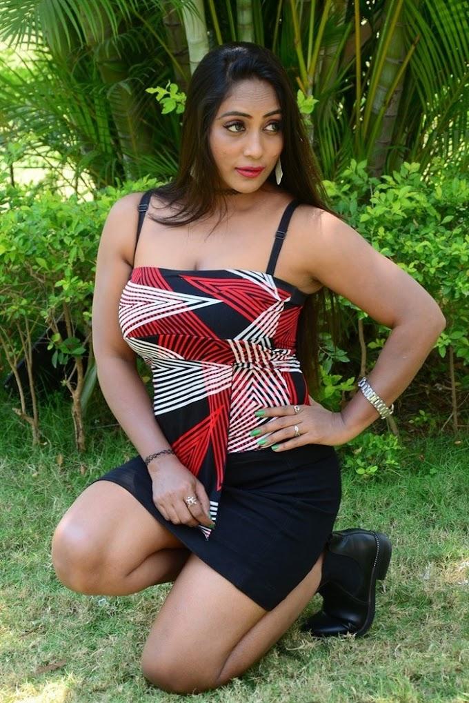 Telugu Actress Meghana Chowdary Pictures at B.Com Lo Physics Movie Press Meet.