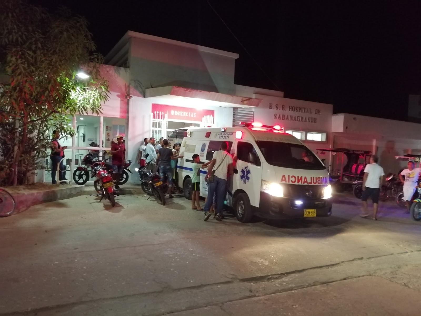 Cuatro heridos deja choque en la vía al puerto del Río en Sabanagrande