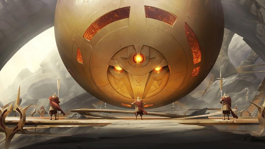 Sun Guardian, Targon, Legends of Runeterra, 4K, #5.2745