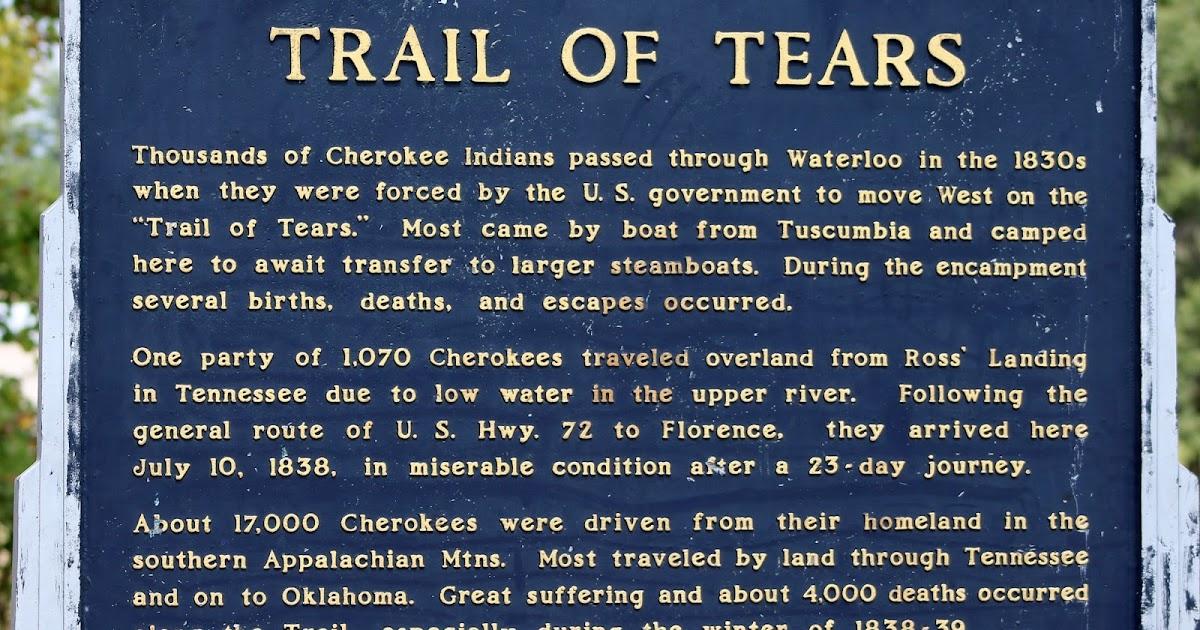 Waterloo, Alabama/Trail of Tears