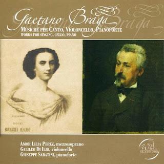 Gaetano Braga – Works For Singing, Cello, Piano