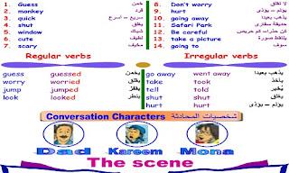 مذكرة اللغة الانجليزية الصف الخامس الابتدائي ترم ثاني