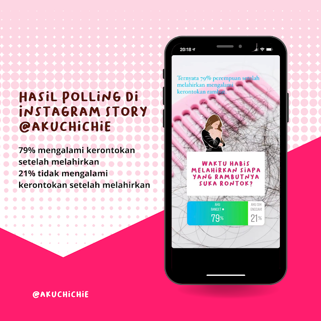 Hasil polling instagram story