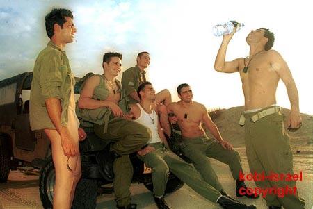 Naked gay servicemen