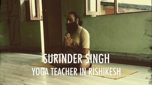 Surinder Singh Yoga Teacher in Rishikesh
