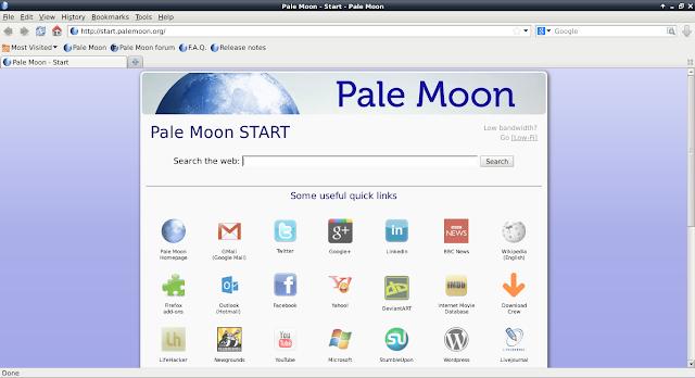 Como instalar o Navegador Pale Moon no Ubuntu, Debian, Fedora, openSUSE e derivados!