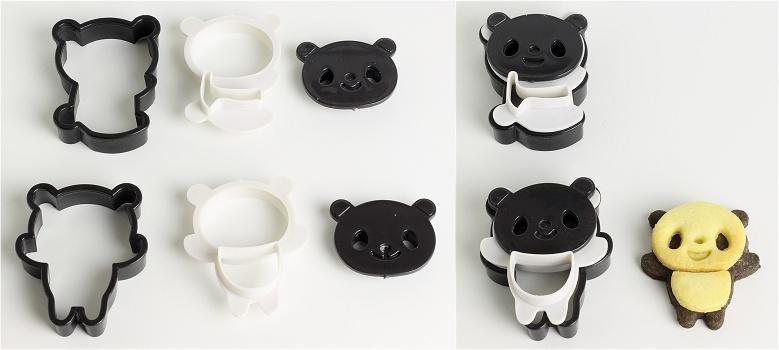 Panda Cookies Anleitung