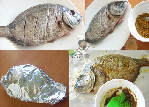 how to prepare nigerian grilled fish