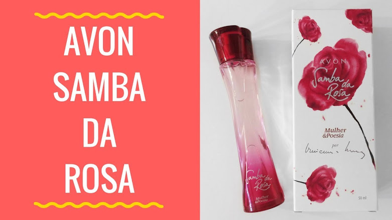 Perfume Avon Samba da Rosa