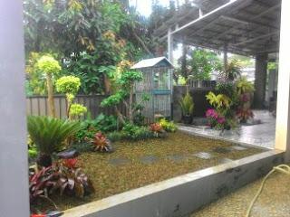 jasa pembuatan taman di halaman luar rumah