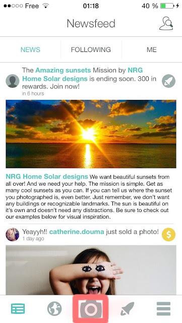 vendre ses photos pour 5 sur foap application r mun ratrice. Black Bedroom Furniture Sets. Home Design Ideas