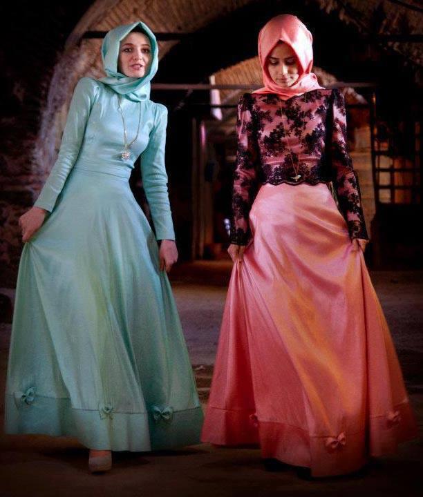 Contoh Dress Batik Elegan Gambar Con