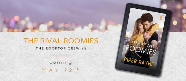 COVER REVEAL – RIVAL ROOMIES by Piper Rayne