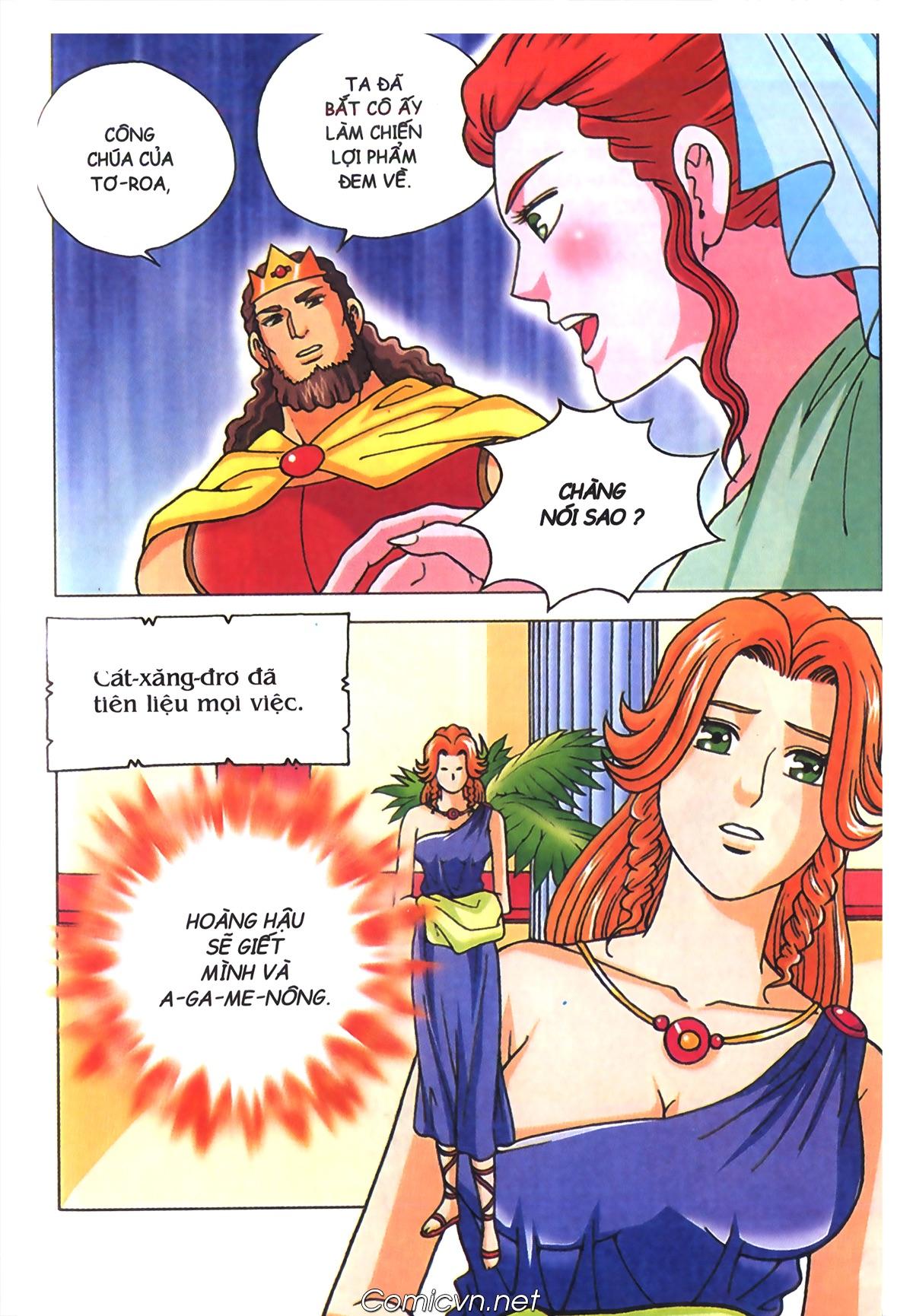 Thần Thoại Hy Lạp Màu - Chapter 70: Nàng Ê lếch tơ - Pic 12